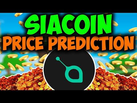Siacoin Price Predicition May 2021 – SIACOIN HUGE PUMP – SIACOIN 2.5$ SOON?