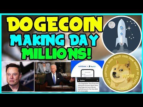 GREAT NEWS FOR DOGECOIN TO BREAK ALL-TIME HIGH! (MUST WATCH) ELON MUSK, Joe BIDEN, COINBASE!