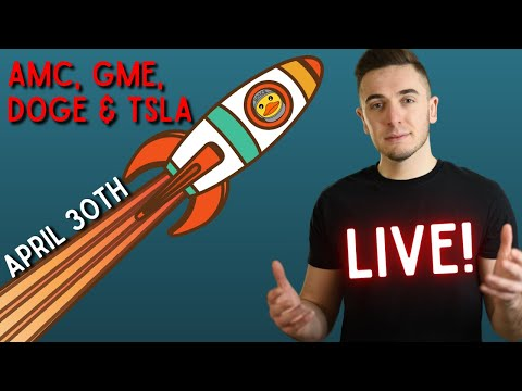 🔴[LIVE] AMC & GameStop 💎🙌: Price Predictions & Analysis || Dogecoin: Get Ready 🚀🚀🚀