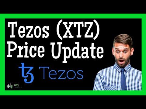 ⭐️ Tezos (XTZ) Price Prediction   Crypto Analyst Sees 11% GAINS For XTZ