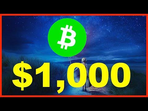 BCH TO THE MOON $1000! 🚀 BITCOIN CASH MOON RUN 🌕