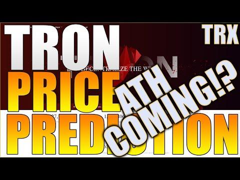 TRON Price Prediction – ATH COMING!? – TRON Crypto Price Prediction – TRX Crypto Price!