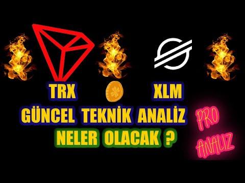 Tron -TRX // Stellar – XLM TAZE AL SİNYALLERİ! HEDEF FİYATLAR KAÇ?
