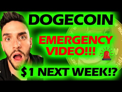 💥DOGECOIN EMERGENCY VIDEO! $1 NEXT WEEK? HUGE MOVES COMING TO A THEATRE NEAR YOU! 🚨