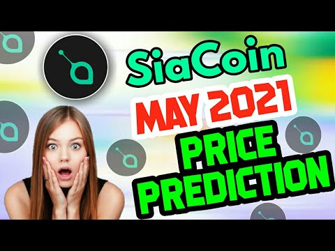 Siacoin – May 2021 Price Prediction    Siacoin New price Prediction    Siacoin update