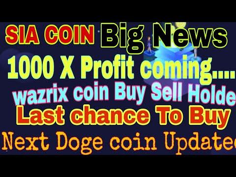 sc coin price prediction    Siacoin Price prediction 2021    wazirx coin price prediction    siacoin