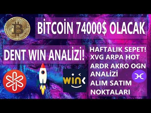 Ralli öncesi Bitcoin dent wın ogn arpa hot akro ardr xvg analizi! haftalık sepet!