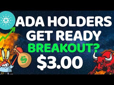 CARDANO (ADA) HOLDERS GET READY!! | NEXT ADA PRICE TARGET | DAILY CARDANO UPDATE | CARDANO NEWS