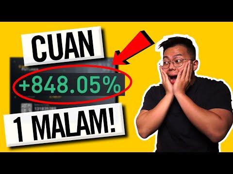 CARA PROFIT 848% HANYA DALAM 1 MALAM! TRADING CRYPTO BISA UNTUNG BESAR?