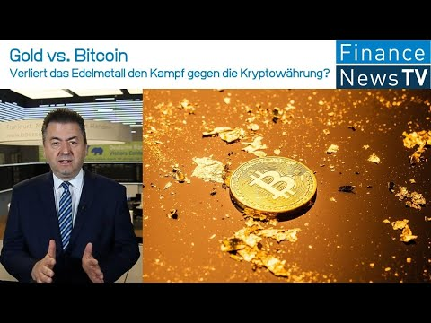 Gold vs. Bitcoin: Verliert das Edelmetall den Kampf gegen die Kryptowährung in der Anleger-Gunst?