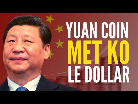 Le Yuan numérique de la Chine va-t-il mettre KO le roi DOLLAR ?