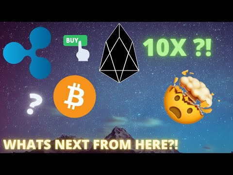 EOS FINALLY BREAKS OUT! XRP ANALYSIS + BITCOIN TO $180K?!