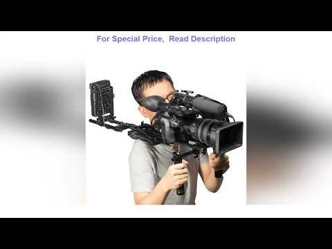 ✨ SmallRig DSLR Camera Shoulder Pad Rig with 15mm RailBlock Camera Shoulder Kit With Z Shape Rod Ra