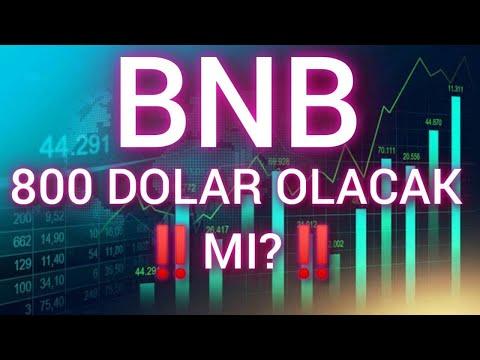 BNB ACİL DİKKAT !! | BİNANCE COİN ANALİZ| BNB ANALİZ| BNB 800 DOLAR OLACAK MI? | BORSA FİNANS