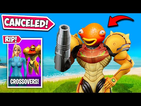 *CANCELLED* FORTNITE CROSSOVERS!! (METROID, LADY GAGA!) – Fortnite Funny and WTF Moments! 1258