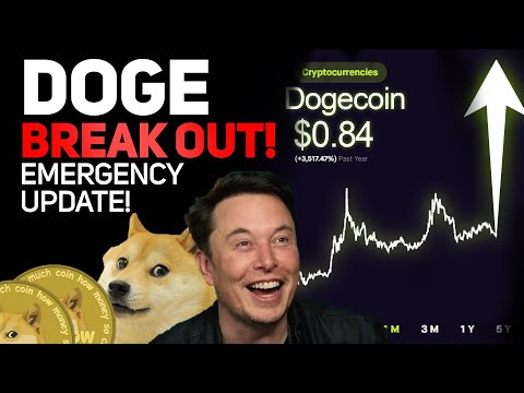 DOGECOIN BREAKING OUT AGAIN?!! EMERGENCY UPDATE! PAY ATTENTION! (DOGECOIN PRICE PREDICTION!)