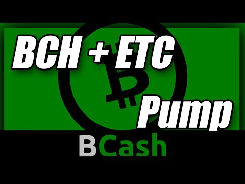 Bitcoin Cash Rose Suddenly To Top 10 & ETH CLASSIC MASSIVE PUMP!