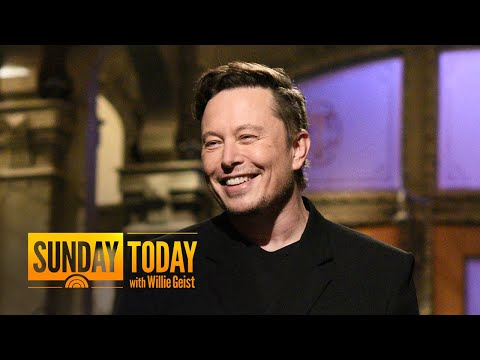 On 'SNL,' Elon Musk Says He Has Asperger's Syndrome, Talks Cryptocurrency | Sunday TODAY