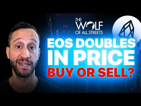 EOS DOUBLES IN PRICE, NEXT PRICE TARGET | CRYPTO NEWS