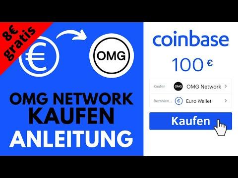 OMG Network (OMG) kaufen auf Coinbase (+8€ geschenkt) ✅ Anleitung