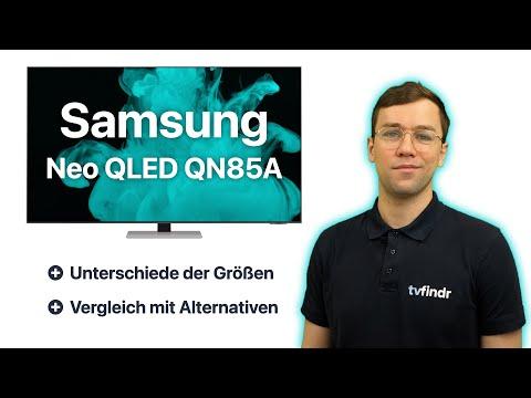 Samsung Neo QLED QN85A 4K UHD TV /// tvfindr.com