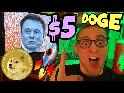 Dogecoin $5 Elon Musk ?