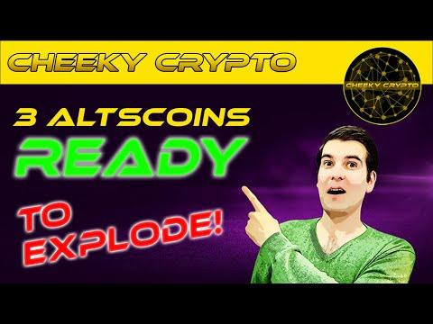⚠ FLASH CRASH ⚠ 3 Altcoins Ready To Explode   Cheeky Crypto News Today