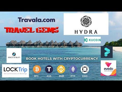 HYDRA CHAIN (140% APY), Travala.com, LockTrip, Evedo, Electroneum, POL. Travel Altcoin Gems for 2021
