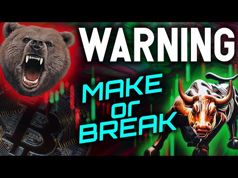 WARNING: CRYPTO'S BULL RUN IS IN A MAKE OR BREAK MOMENT