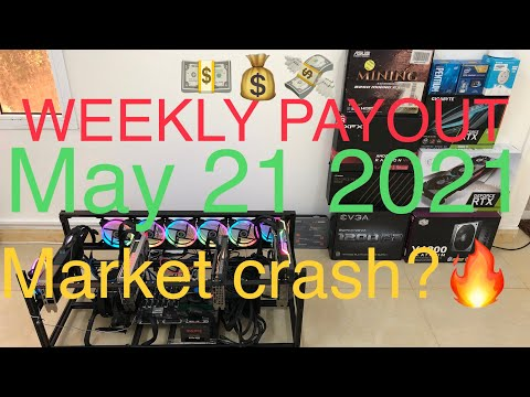 Crypto mining profit   weekly payout May 21 2021  Q & A