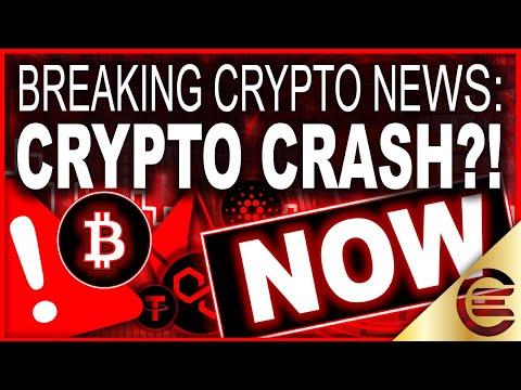 CRYPTO MARKET CRASH! BITCOIN DIP! ALTCOINS AND ETHEREUM!