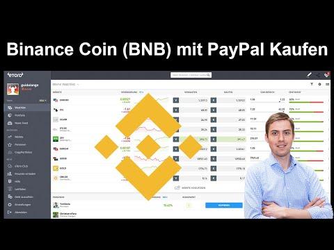 Binance Coin (BNB) per PayPal Kaufen – Anleitung für Anfänger ✅