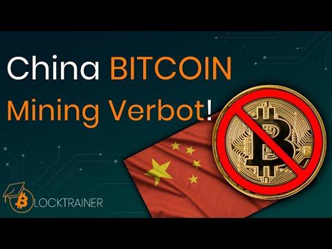 BITCOIN Mining Verbot China! – Was bedeutet das für BITCOIN?