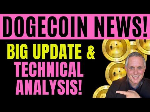 BIG DAY TOMORROW FOR DOGECOIN! DOGECOIN PRICE PREDICTION + DOGECOIN TECHNICAL ANALYSIS