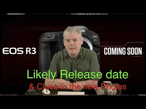 Canon eos R3 is coming soon, new details available