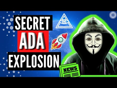 SECRET Explosion Cardano Ada Is Planned (You Didn't Know This!)