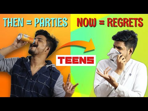 6 THINGS I WISH I DIDN'T DO IN MY TEENS   Men's Lifestyle in TELUGU   The Fashion Verge