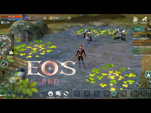 EOS RED GAMEPLAY (ENG) | OFFICIAL LAUNCH | (ANDROID/IOS)
