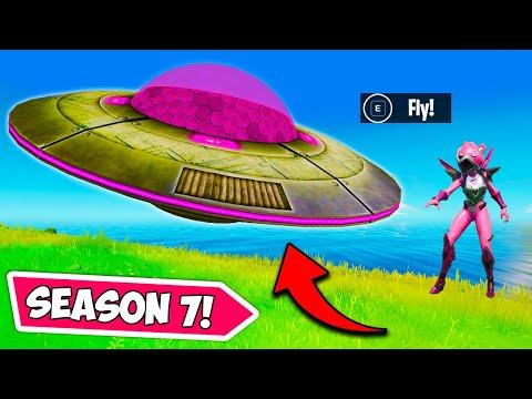 *NEW* SEASON 7 UFO'S are HERE!! – Fortnite Funny Moments! 1284