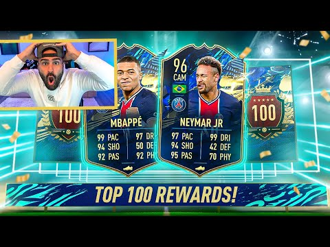OMG WTF! THE MOST INSANE TOTS TOP 100 REWARDS EVER!! 5 MILLION + COINS ??!! FIFA 21