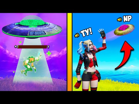 *SECRET* UFO TRICK EPIC TRIED TO HIDE!! – Fortnite Funny and WTF Moments! 1285