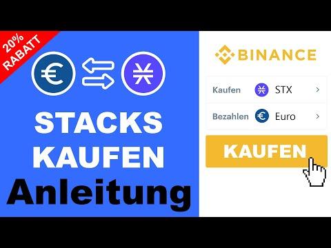 Stacks (STX) kaufen ANLEITUNG ✅ Schritt-für-Schritt (0,08% Gebühren)