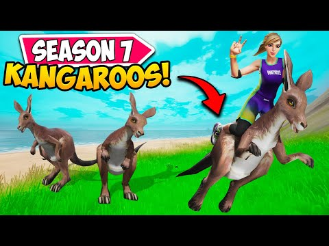 SEASON 7 *KANGAROOS* are HERE!! – Fortnite Funny and WTF Moments! 1281