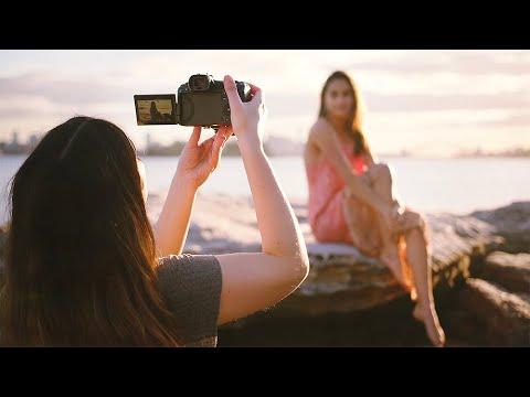 Canon EOS R5 + RF 50mm f1.2 Golden Hour Beach Photography