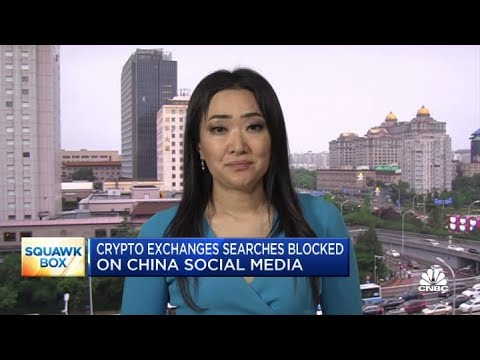 Crypto exchanges appear blocked on Chinese social media search results