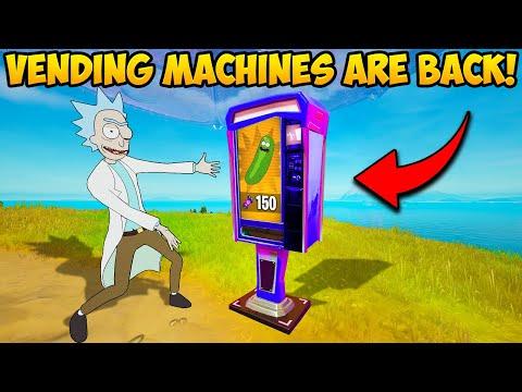 *NEW* SEASON 7 VENDING MACHINES ARE INSANE!! – Fortnite Funny Moments! 1290