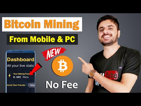 Bitcoin Mining From Mobile or PC | Best Cloud Mining Website | Earn Free Bitcoin From Mobile