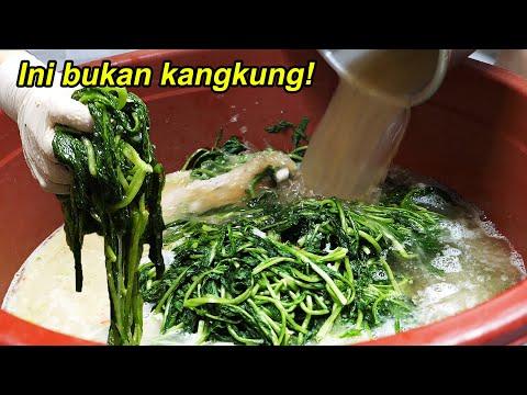 Kuahnya banjir..Gak ada bubuk cabe..Tapi ini juga dibilang Kimchi ya..!??