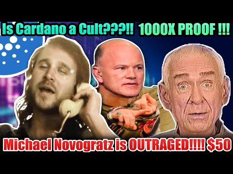 IS CARDANO A CULT?? 1000X PROOF !!!! NOVAGRATZ IS OUT RAGED!!! POLKADOT ETHEREUM CULTS TOO!! ADA $50