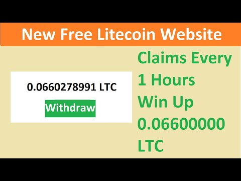 New Free Litecoin Mining Site 2021-Free Cloud Mining Site 2021-Litking Review